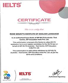 Rosemounts Cetificate 1 IDP